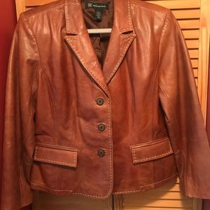 I.N.C. International Concepts Leather Jacket